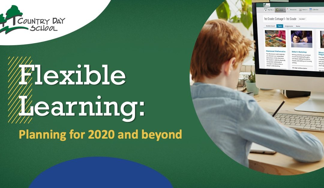 Flexible Learning: Planning for 2020 and Beyond