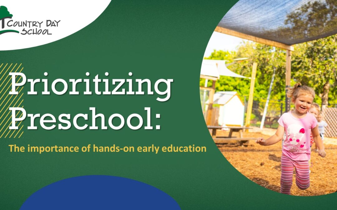 Prioritizing Preschool: The Importance of Hands-On Early Education